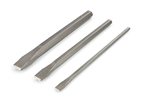 TEKTON Long Cold Chisel Set, 3-Piece (1/2, 3/4, 1 in.) | 66506