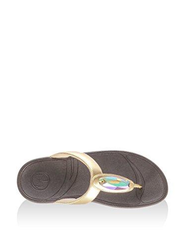 Leather Oro Eu Tm 40 Chada Fitflop Infradito 4qAwt6w0