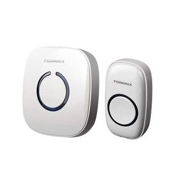 Smart Digital UK AU AC 220-240V Wireless Remote Control Home Office Doorbell - Access Control & Intercoms Doorbells - (UK plug) - 1 x Forrinx Digital Doorbell Receiver (UK/AU) -