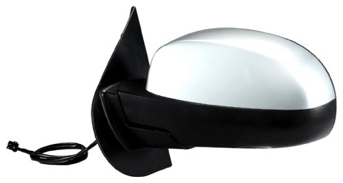 Fit System 62088G Chevrolet/GMC Driver Side Replacement OE Style Black Heated Power Folding Mirror