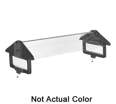 Carlisle Conversion Kit, 6 ft., includes sneeze guard, posts & hardware to update FiveStar to SixStar Food Bar, clear, NSF, 667307