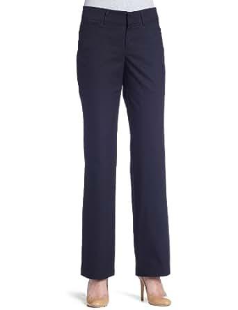 Dockers Women's Metro Trouser Pant, Navy,4