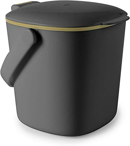 OXO Good Grips Easy-Clean Compost Bin, 0.75 GAL/2.83 L