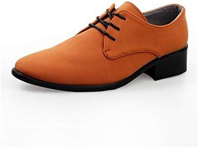 クラシックメンズファッションオックスフォードカジュアル紳士英国スタイルシンプルピュアカラーフォーマルシューズ 快適な男性のために設計