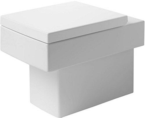 Duravit 21170900921 Toilet Floor Standing 57 Cm Vero White, Hori.Outlet, Washd., Us, Wg Toilet Floor Standing 57 Cm Vero Hori.Outlet, Washd., Us, Wg Vero Wash Bowl