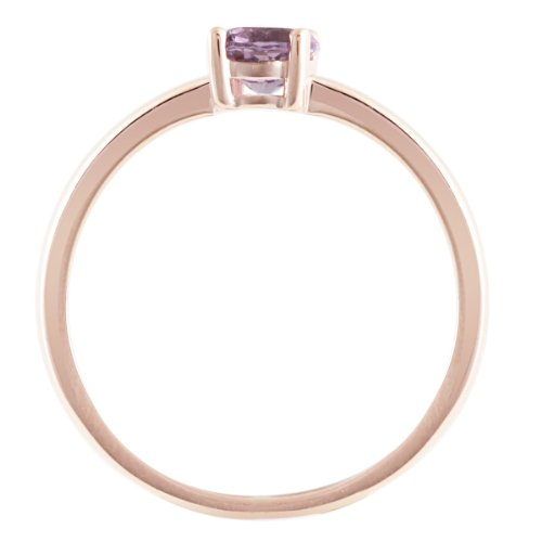 Goldmaid - Fa R5756RG54 - Bague Femme - Or rose 375/1000 (9 carats) 1.4 gr - Améthyste - T 54