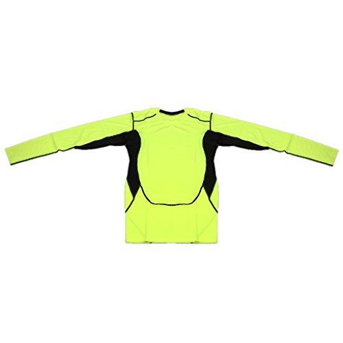 支払い玉メロンノーブランド品 全5サイズ4色 メンズ スポーツ ジム コンプレッション トップ シャツ トップス 通気性