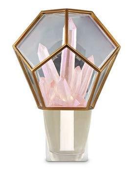 Crystal Flower Bath Light - Bath and Body Works Crystal Terrarium Nightlight Wallflowers Fragrance Plug.