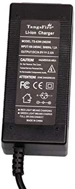 TangsFire Cargador de batería de Plomo-ácido 24V 2A para Scooter eléctrico, Bicicleta eléctrica, Silla de Ruedas, Carrito de Golf (Conector XLRM)