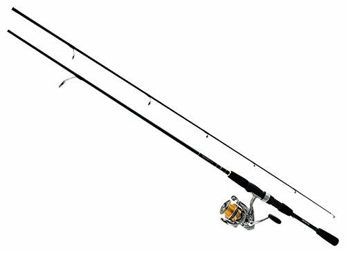 Daiwa REV20-4BI/G562L Revros Freshwater Spinning Combo, 4Rb+1Rb Bearings, 5'6 Length, 2Piece Rod, Light Power - Daiwa Bearings