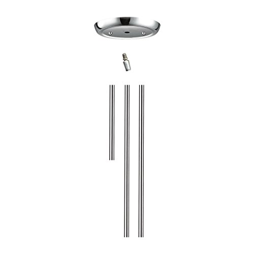 ELK Lighting RODKIT-CHR, Chrome Rod Kit Include1-6',2-12'Extension Rods by ELK