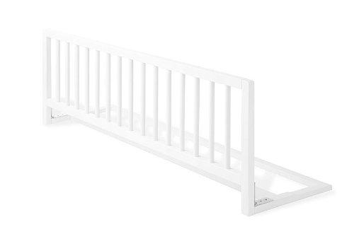 Pinolino 172447 - Bettschutzgitter weiß, Buche, weiß lackiert