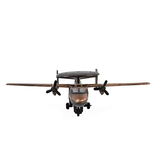 (Bronze 1:200 Scale Model Hawkeye Plane Diecast Pencil Sharpener Military Vet Gift )