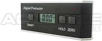 "#8220-1000 6/"" x 2.4/"" x 1.23/"" 360 Degree Electronic Digital Protractor"