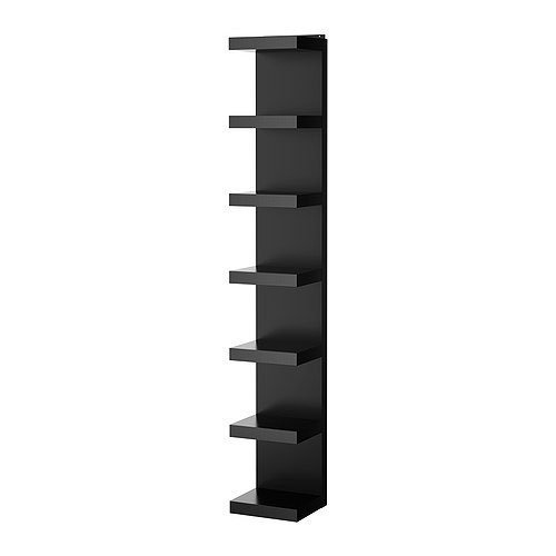 Ikea Lack Wall Shelf Unit, Black by Ikea