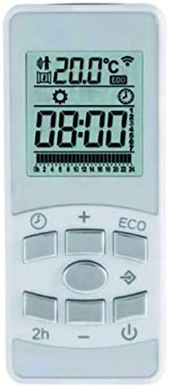 Toallero El/éctrico Fluido Digital Programable Blanco 700w F/ácula