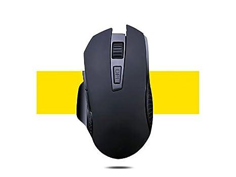 Ratón ligero para juegos Ratones ópticos inalámbricos USB inalámbricos ergonómicos del ratón con ajustables para los ordenadores portátiles y el ordenador ...