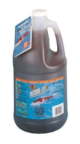 Eco Labs 971047 10PLG4 Microbe Lift PL Bacteria for Watergardens Gallon, - Pond Natural Cleaner