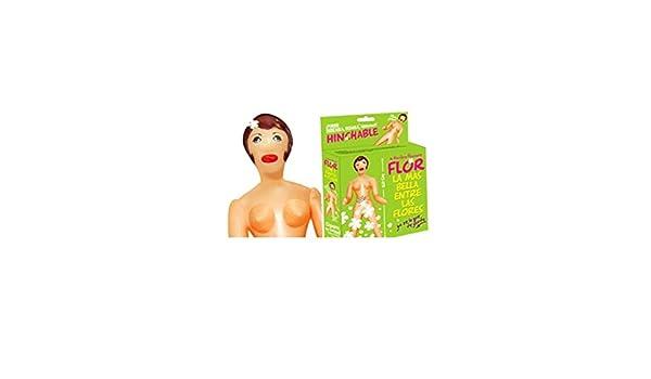 DISBACANAL Muñeca Hinchable Flor: Amazon.es: Juguetes y juegos