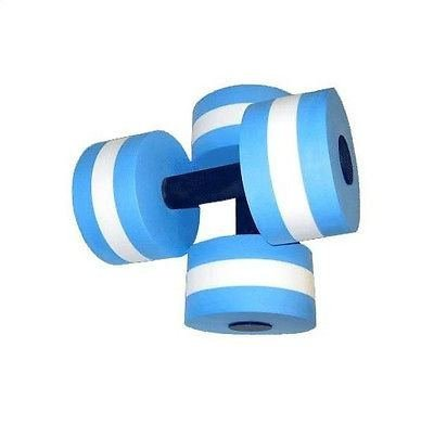 Cheap Water Aerobics Dumbbell Medium Aquatic Barbell Aqua Fitness Pool Exercise