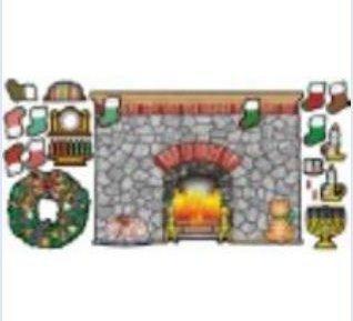 Holiday Hearth Bulletin Board - 3