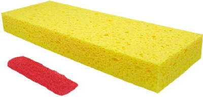 Quickie Mfg. # 0272 Professional Jumbo Sponge Mop Refills- Quantity of 7