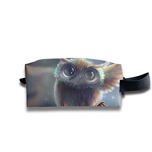 Small Toiletry Bag Owl,Pencil Case,Travel Essentials Bag,Dopp Kit