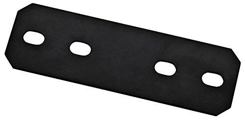 Mending Plate,9.5x3x1//8 Blk