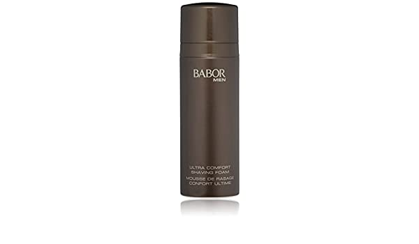 Amazon.com: BABOR MEN Ultra Comfort Shaving Foam for Face 6.75 oz – Best Natural Shaving Foam for Day and Night: Luxury Beauty