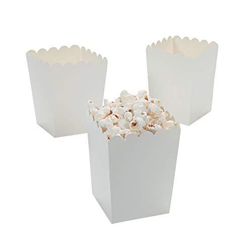 (Fun Express Mini White Popcorn Boxes (24 Pack) 3