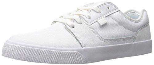 DC Mens Tonik Skate Shoe, Blanco/blanco/blanco, 44.5 D(M) EU/10 D(M) UK