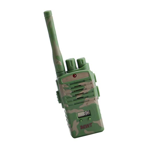 2eea61afd D DOLITY · D DOLITY 2Pcs Camouflage Portable Two-Way Walkie Talkie ...