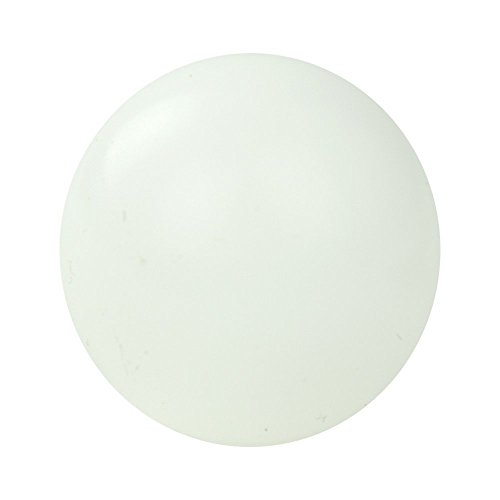 1/8'' Food Grade Delrin Acetal Plastic Ball for Valves (30 Balls) by Hoover Precision Products