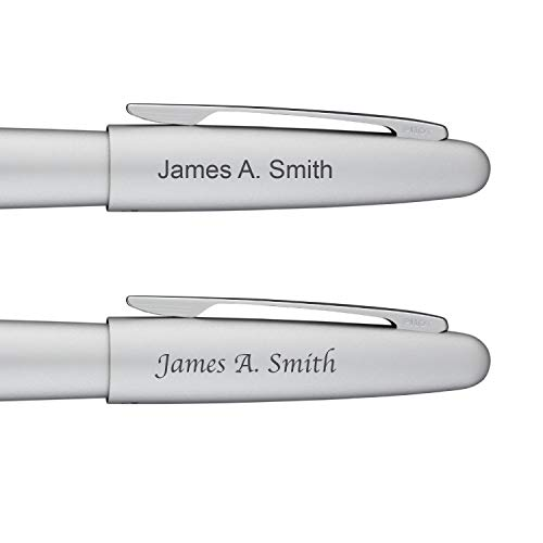 Engraved/Personalized Pilot Metropolitan Animal Collection 'Silver Python' Rollerball Pen - Custom Engraving 91237
