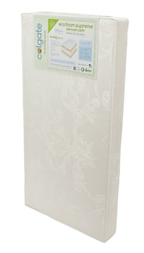 Colgate EcoFoam Supreme | Natural Foam Crib Mattress | 51.8