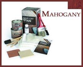 New Therma Tru Finishing Kit Mahogany Stain Kit for Fiberglass Doors by Therma Tru