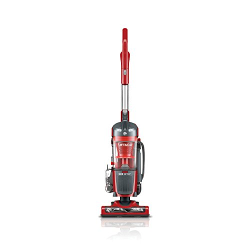 Dirt Devil Lift and Go Vacuum with Swipes, Red - Corded - Red Upright Vacuum