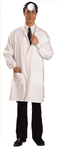 Forum Doctor's Lab Coat (Mad Doctor Halloween Costume)
