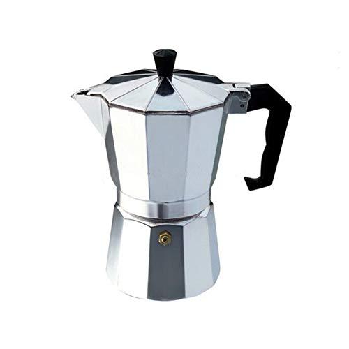 Cafetera para Estufas Cafetera Espresso, para Gas, eléctrica (Placas de cerámica - Vitrocerámica, Placas...