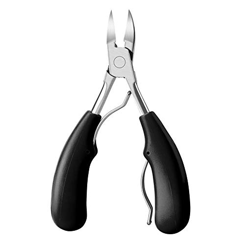 OdWd Nail Correction Clipper Cutters,Precision Toenail Clippers for Thick, Nail Clipper Pedicure Tool Black from OhradWord
