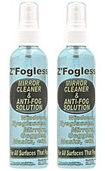 Zadro Anti-Fog Spray - 4 oz Bottle - Two Bottle Set Fog Free Spray Solution