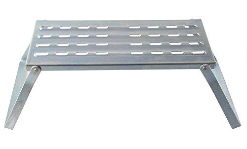 Marche Pied Pliable Metal 49x21x21cm Caravane Maison Neuf