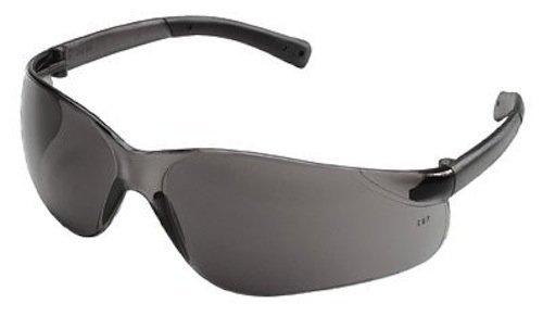 Glasses Crews Safety Bearkat (Crews BK117 Bearkat Safety Glasses Smoke Frame w/Silver Mirror Lens (12 Pair))