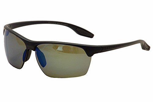 (Serengeti Linosa Sunglasses, Sanded Dark Gray )