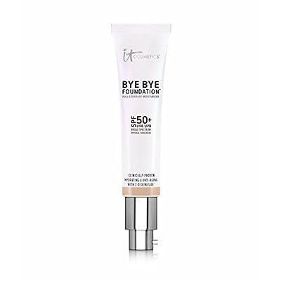 IT COSMETICS Bye Bye Foundation SPF 50+ Full Coverage Moisturizer (Tan) 1.08 oz by It Cosmetics