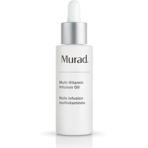 Murad Murad Multi-Vitamin Infusion Oil - (1.0 fl oz), Revolutionary Treatment Oil Powered by 6 Key Vitamins A through F to Target Signs of Aging and Boost Hydration for a Youthful Looking Complexion - Power Signs Treatment Foundation
