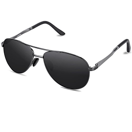 HiCool Sunglasses for Women Men Polarized UV Protection Vintage Sport Oval Fit Over Small ()
