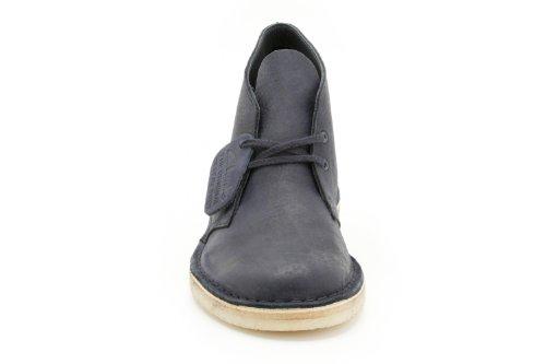 Clarks Desert Boot 20349148 - Botas de cuero nobuck para hombre Azul (Denim Blue)