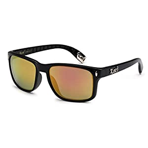 Locs Original Gangsta Shades Metal Tips Sunglasses Color Mirror Lens