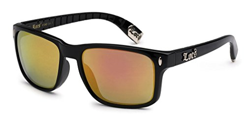 Locs Original Gangsta Shades Metal Tips Sunglasses Color Mirror - Online Australia Sunglasses